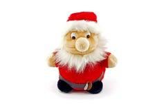 Eine Koala ähnliche Abbildung in Weihnachtsmann-Kostüm Lizenzfreies Stockbild