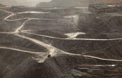 Eine Kohlengrube, Appalachia, Amerika Lizenzfreies Stockfoto
