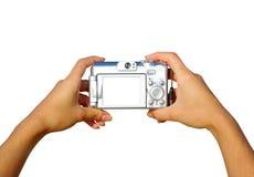 Eine kompakte Digitalkamera Stockfoto
