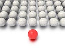 Eine Konzept-Grafik, die eine stilisierte Führung oder Teamwork-Ideen kennzeichnet Lizenzfreies Stockbild