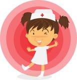 Eine Krankenschwester Stockbild