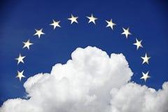 Eine Krone der goldenen Sterne Lizenzfreie Stockbilder