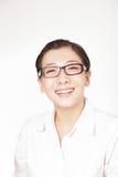 Eine lächelnde Geschäftsfrau Stockbild