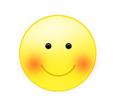 Eine lächelnde Sonne Stockbild
