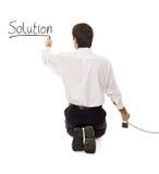 Eine Lösung suchen und finden Lizenzfreie Stockfotos