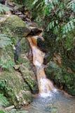Eine Lagune von den Azoren lizenzfreies stockfoto