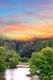Eine Landschaft Stockfotos