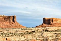 Eine Landschaft der Beschaffenheit von Utah Lizenzfreie Stockfotografie
