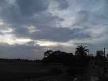 Eine Landschaft des Himmels Stockfoto