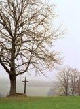 Eine Landschaft im Bayern Ende des Herbstes Lizenzfreie Stockfotografie