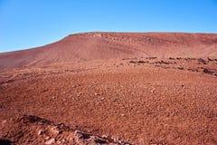 Eine Landschaft mögen auf Mars in Kichik-Alai-Tal in Kirgisistan Stockfotografie