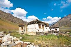 Eine Landschaft nahe Rangdum auf dem Weg zu Zanskar, Ladakh, Jammu und Kashmir, Indien Lizenzfreies Stockfoto
