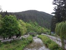Eine Landschaft von Kleptuza Lizenzfreie Stockbilder