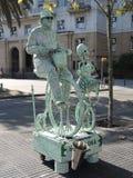 Eine lebende Statue Lizenzfreie Stockfotografie