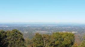 Eine Linie von schönen Bergen Stockfoto