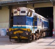 Eine Lokomotive lizenzfreie stockfotografie
