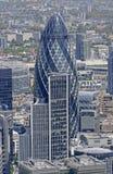 Eine London-Essiggurke Stockbild
