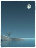Eine magische Nacht Stockfotos
