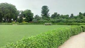 Eine majestätische Ansicht des Gartens stockfoto