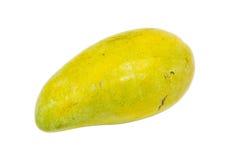 Eine Mango auf weißem Hintergrund Stockfotos