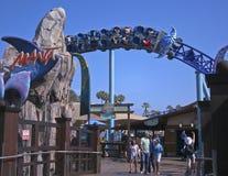 Eine Manta-Achterbahn-Fahrt, SeaWorld, San Diego Lizenzfreie Stockfotografie