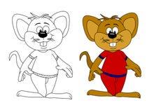 Eine Maus Stockfotografie