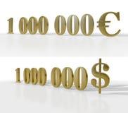 Eine Million Lizenzfreie Stockfotos