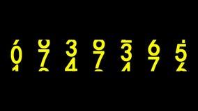 Eine Million auf dem Zähler vektor abbildung