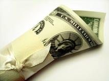 Eine Million Dollaranmerkung lizenzfreie stockfotografie