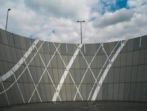 Eine moderne Architektur in München Stockbild