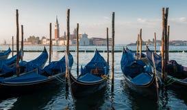 Eine Morgenansicht von Kirche Sans Giorgio Maggiore in Venedig, Italien Lizenzfreie Stockfotos