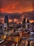 Eine Nacht in Bangkok Lizenzfreie Stockfotografie
