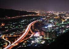Eine Nachtszene Stockfotografie