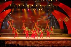 Eine neues Jahr ` s song-2006 Jiangxi Frühlingsfest-Galapartei Lizenzfreies Stockbild