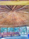 Eine offene Hütte Stockbild