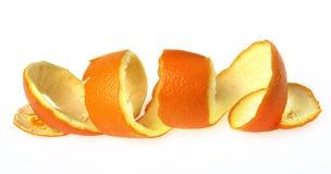 Eine orange Schale. Stockfoto
