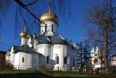 Eine orthodoxe Kirche Lizenzfreies Stockbild