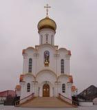 Eine Orthodoxiekirche ist in Weißrussland stockfotografie
