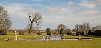 Eine Parkland-Ansicht über Ost-Yorkshire Stockbild