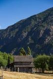 Eine patagonian Hütte Lizenzfreies Stockfoto