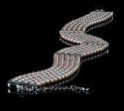 Eine Perlenhalskette Stockbilder