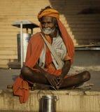 Eine Pilgerfahrt zum Ganges lizenzfreie stockfotografie