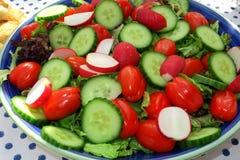 Eine Platte des gesunden Lebensmittels Stockfotografie