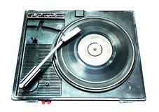 Eine Plattenspieleraufzeichnung ist ein analoger Ton lizenzfreie stockfotos