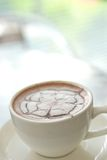 Getränk der heißen Schokolade lizenzfreie stockfotografie