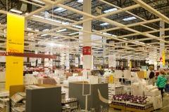 Eine Probe des Innenraums in IKEA-Speicher Stockfotografie
