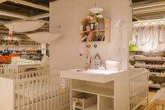 Eine Probe des Innenraums in IKEA-Speicher Lizenzfreie Stockbilder
