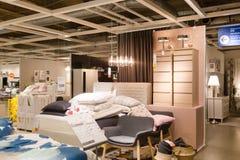 Eine Probe des Innenraums in IKEA-Speicher Lizenzfreies Stockbild