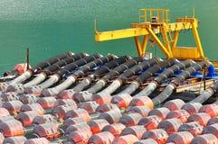 Eine Pumpenstation Lizenzfreie Stockbilder