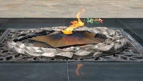 Eine quenchless Flamme Lizenzfreies Stockbild